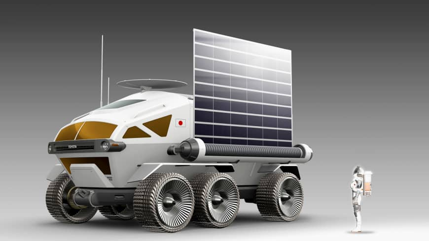 Bridgestone Toyota JAXA Moon Rover