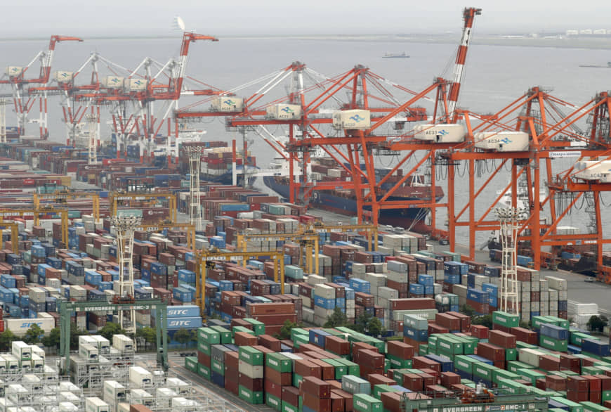 Japanese economy grows in first quarter in news that could quell tax hike debate