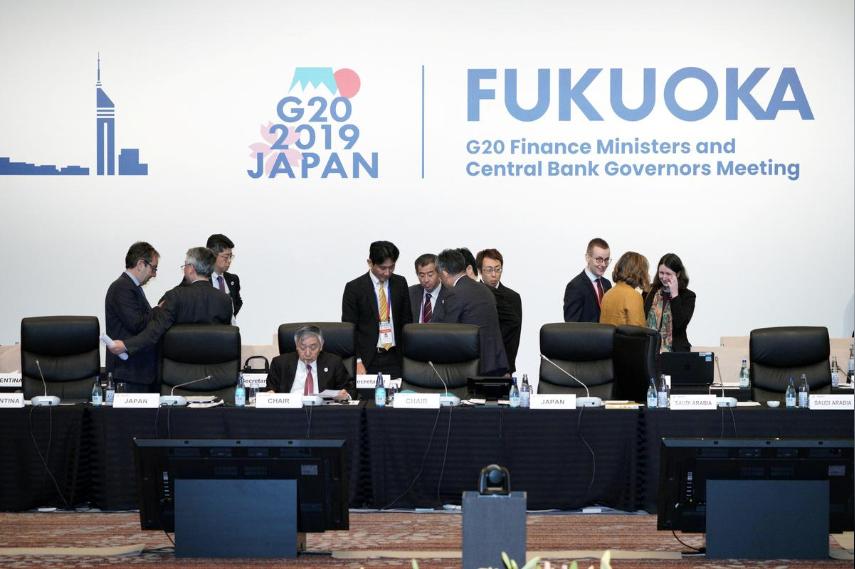 G20声明案、貿易・地政学面で緊張「高まっている」=関係筋