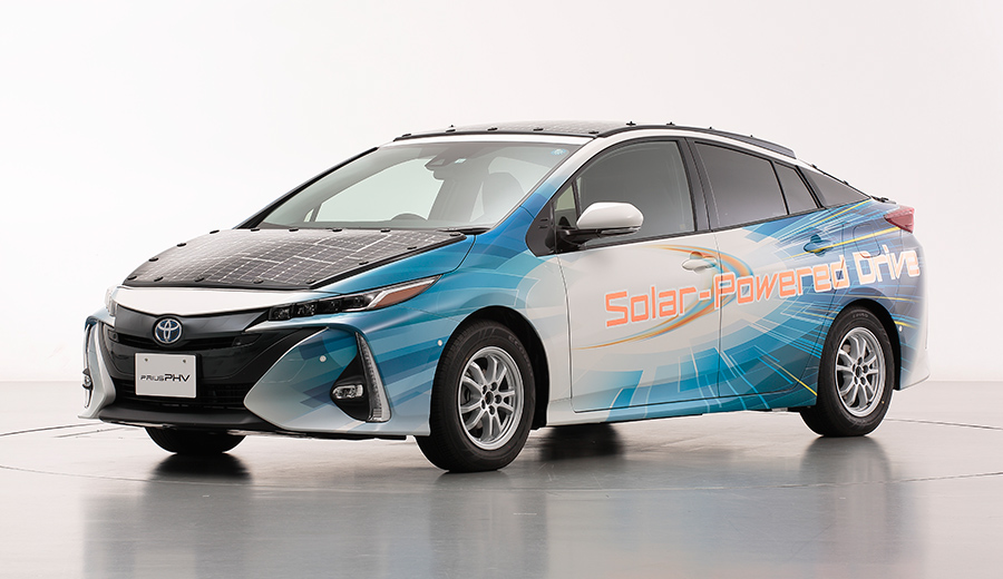 NEDO, Sharp, and Toyota to Begin Public Road Trials of Electrified Vehicles Equipped with High-efficiency Solar Batteries