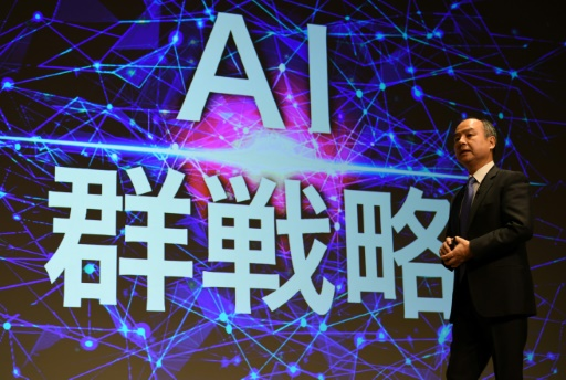 SoftBank unveils investment fund to drive 'AI revolution'