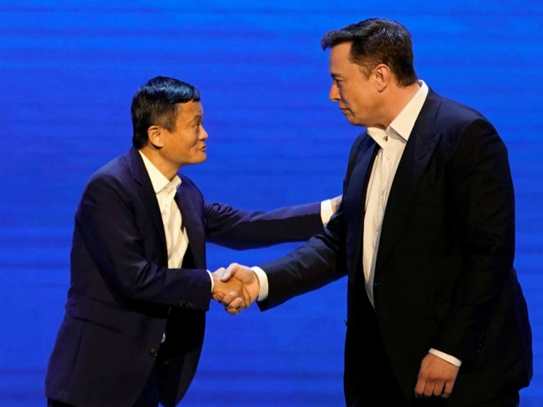 The Time a Jet-Lagged Musk Made Alibaba's Jack Ma Sound Grounded