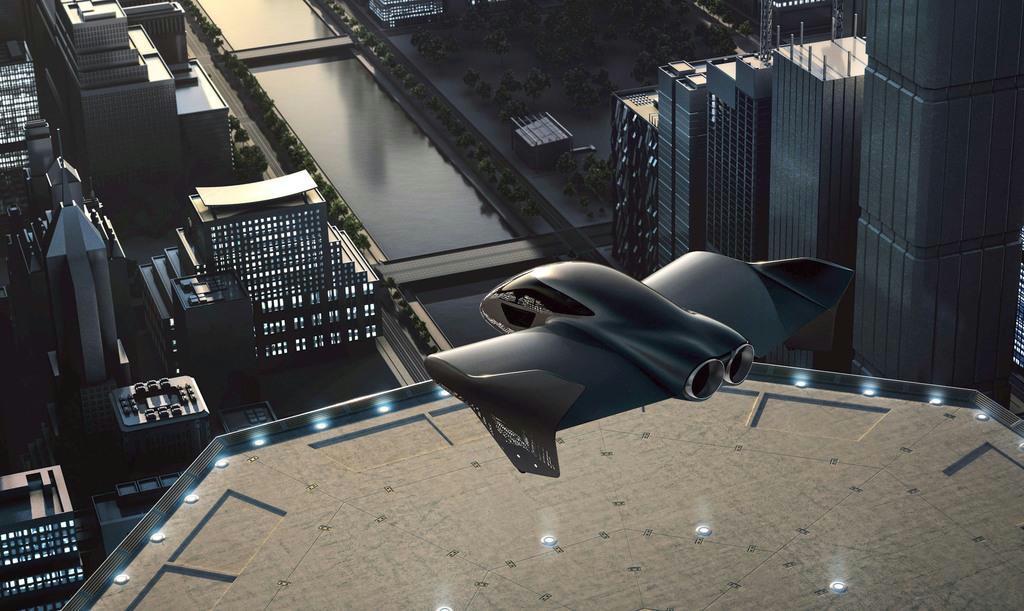 ポルシェとボーイング提携 小型の空飛ぶ乗り物開発