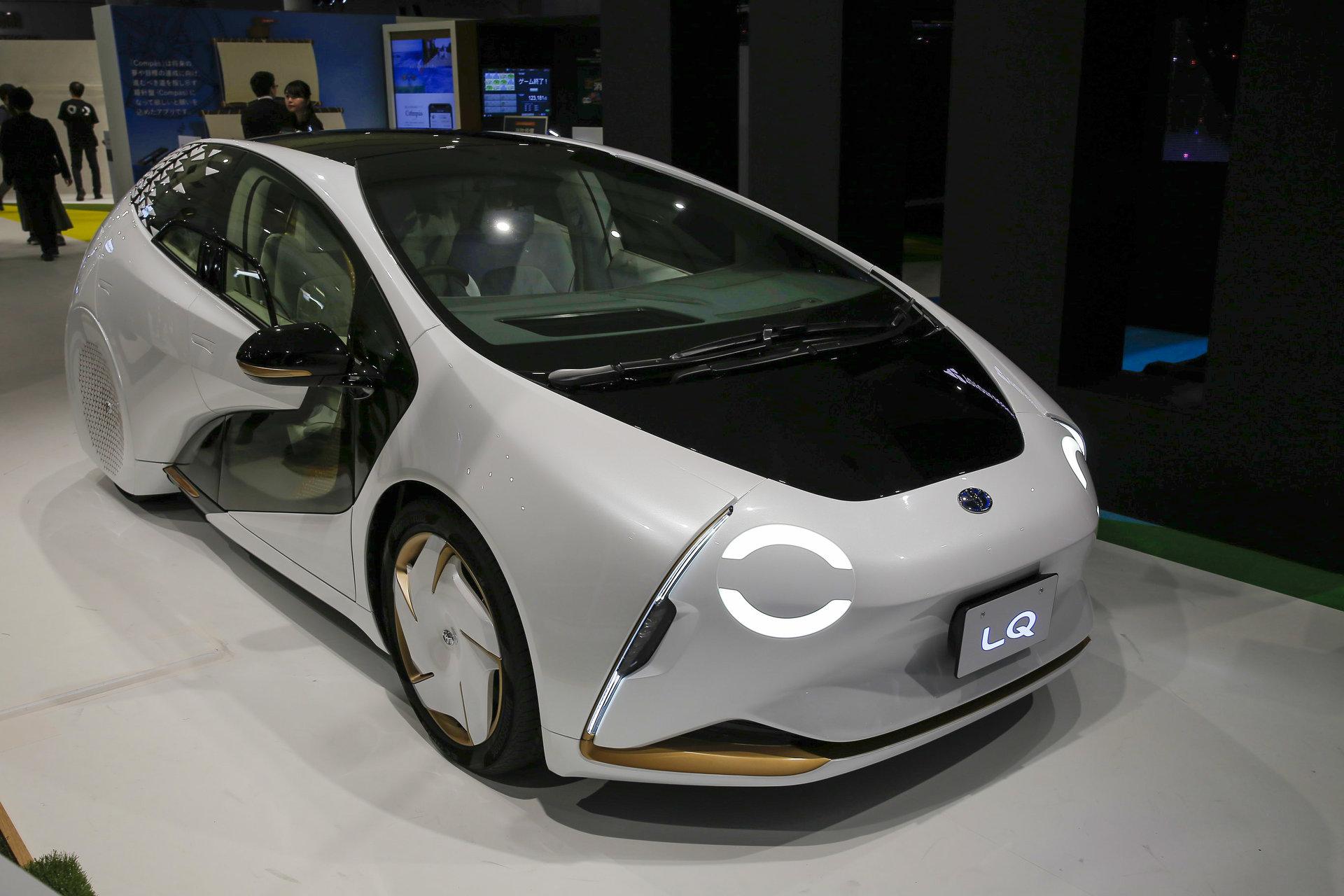 トヨタ、AIとレベル4自動運転を搭載したコンセプトカーを公開 2020年には公道で体験イベントも