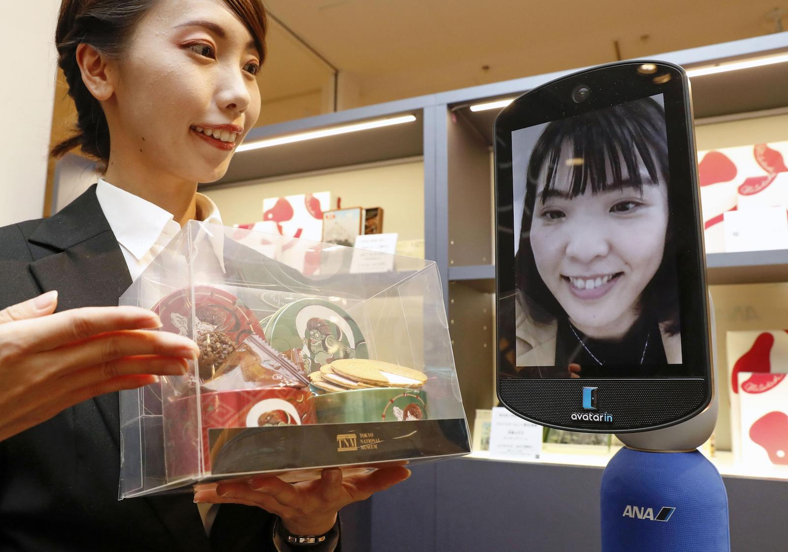 ANA opens world's 1st shop with avatar robot in Tokyo