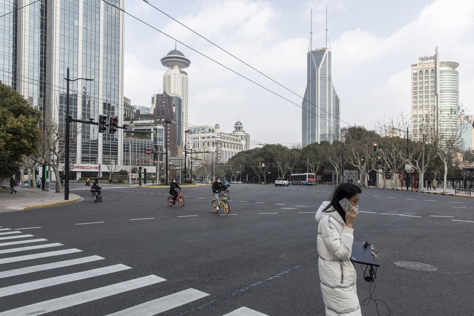 世界最大の「在宅勤務の実験」始まる-新型ウイルスに見舞われた中国