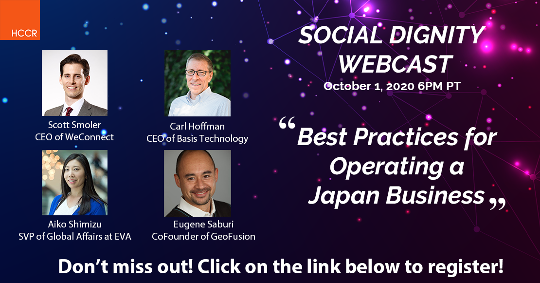 Social Dignity Webcast Episode 2 – Best Practices in Operating a Japan Business