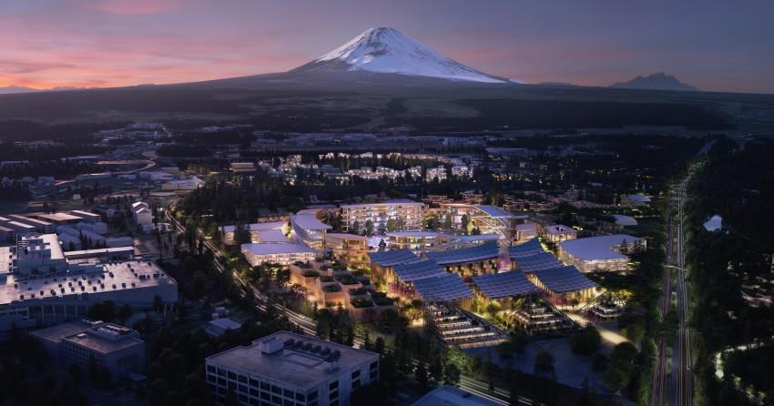 Toyota begins building smart city near Mt Fuji